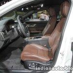 2017 Jaguar XF Sportbrake front seats at the IAA 2017