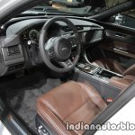 2017 Jaguar XF Sportbrake interior dashboard at the IAA 2017
