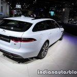 2017 Jaguar XF Sportbrake rear three quarters at the IAA 2017