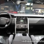 2017 Land Rover Discovery dashboard at the IAA 2017