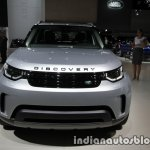 2017 Land Rover Discovery front at the IAA 2017