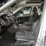 2017 Land Rover Discovery front cabin at the IAA 2017