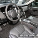 2017 Land Rover Discovery interior at the IAA 2017