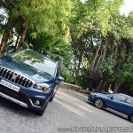 2017 Maruti S-Cross facelift front and side