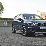 2017 Maruti S-Cross facelift front angle