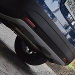 2017 Maruti S-Cross facelift rear bumper