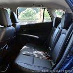 2017 Maruti S-Cross facelift rear seats