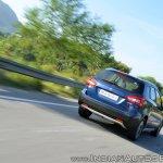 2017 Maruti S-Cross facelift rear three quarters action