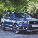 2017 Maruti S-Cross facelift right front three quarters