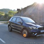 2017 Maruti S-Cross facelift right front three quarters action
