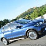 2017 Maruti S-Cross facelift side action