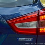 2017 Maruti S-Cross facelift tail lamp