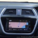 2017 Maruti S-Cross facelift touchscreen