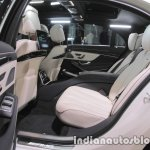 2017 Mercedes-AMG S 63 rear seat at IAA 2017