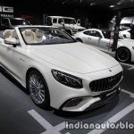 2017 Mercedes-AMG S 65 Cabriolet (facelift) front three quarters at the IAA 2017