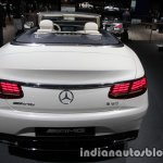 2017 Mercedes-AMG S 65 Cabriolet (facelift) rear at the IAA 2017