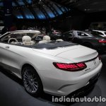 2017 Mercedes-AMG S 65 Cabriolet (facelift) rear three quarters at the IAA 2017