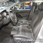 2017 Opel Astra Sports Tourer CNG front seats at the IAA 2017