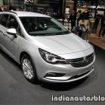 2017 Opel Astra Sports Tourer CNG front three quarters at the IAA 2017