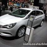 2017 Opel Astra Sports Tourer CNG front three quarters left side at the IAA 2017