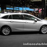 2017 Opel Astra Sports Tourer CNG profile at the IAA 2017