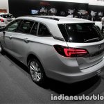 2017 Opel Astra Sports Tourer CNG rear three quarters at the IAA 2017