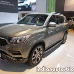 2017 Ssangyong Rexton front three quarters at IAA 2017