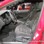 2017 VW Golf GTI Performance front seats at the IAA 2017
