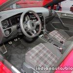 2017 VW Golf GTI Performance interior dashboard at the IAA 2017
