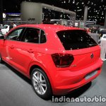 2017 VW Polo Beats Edition rear three quarter left at IAA 2017