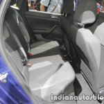 2017 VW Polo R-Line rear seat knee room leg room at IAA 2017