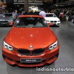 2018 BMW 2 Series Coupe (LCI) front at the IAA 2017