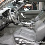 2018 BMW 2 Series Coupe (LCI) front cabin at the IAA 2017
