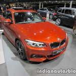 2018 BMW 2 Series Coupe (LCI) front quarter at the IAA 2017