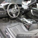 2018 BMW 2 Series Coupe (LCI) interior at the IAA 2017