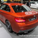 2018 BMW 2 Series Coupe (LCI) rear quarter at the IAA 2017