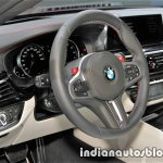 2018 BMW M5 First Edition dashboard at the IAA 2017 - Live