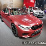 2018 BMW M5 First Edition front three quarters at the IAA 2017 - Live