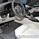 2018 BMW M5 First Edition interior dashboard at the IAA 2017 - Live