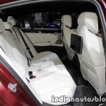 2018 BMW M5 First Edition rear seats at the IAA 2017 - Live