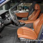 2018 BMW X3 front seats at IAA 2017