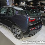 2018 BMW i3 rear three quarters at IAA 2017