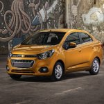 2018 Chevrolet Beat Notchback front three quarters