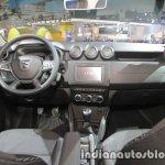 2018 Dacia Duster dashboard at IAA 2017