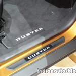 2018 Dacia Duster door sill floor mat carpet at IAA 2017
