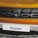 2018 Dacia Duster grille at IAA 2017