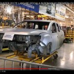 2018 Dacia Duster production shell