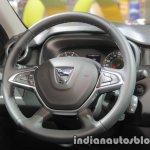 2018 Dacia Duster steering at IAA 2017