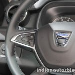 2018 Dacia Duster steering buttons controls at IAA 2017