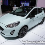 2018 Ford Fiesta Titanium front three quarters at IAA 2017